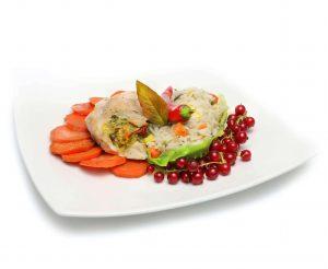 Obiad w pracy zdrowy