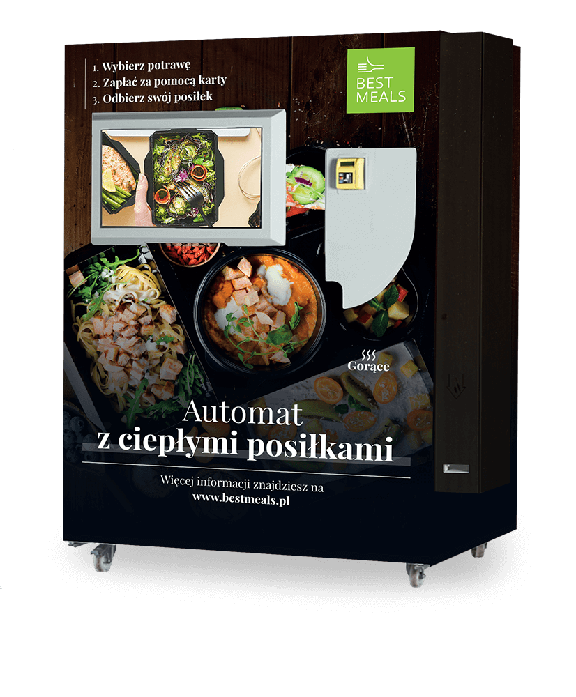 automat z ciepłym jedzeniem, Strona główna